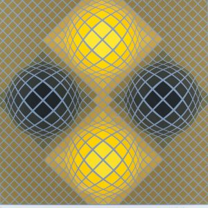 Victor Vasarely Untitled 703