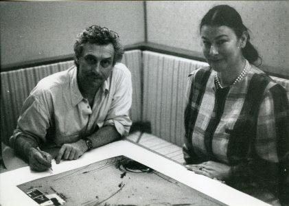 Vladimir Veličković and Živa Škodlar Vujic.