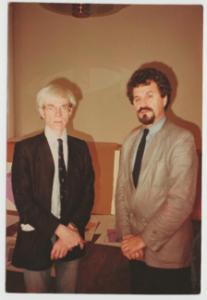 Andy Warhol and Lazo Vujić